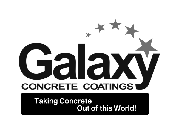 Galaxy Concrete Coatings - taking Concrete out of this world logo